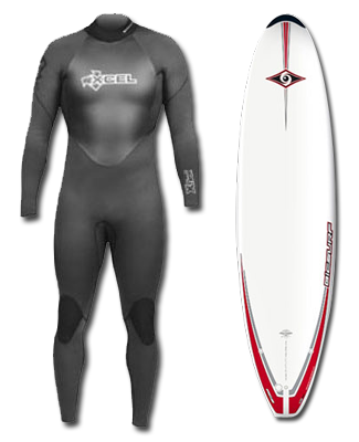 Surfboard and Wetsuit Hire - Click Image to Close